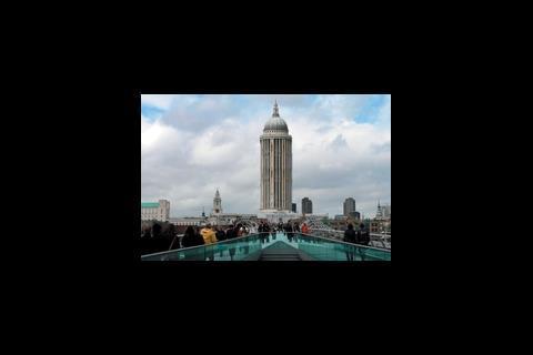 St Paul's 55-storeys high